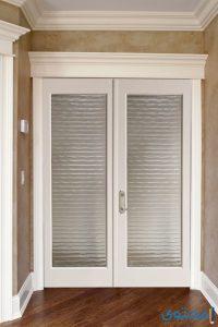 أحدث أشكال الأبواب الخشبية الداخلية