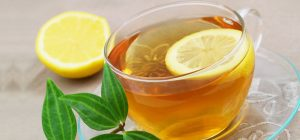 فوائد الشاي الاخضر والليمون على الريق