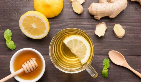 فوائد الزنجبيل مع العسل والليمون على الريق