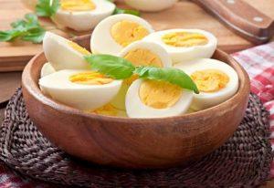 فوائد تناول البيض المطبوخ